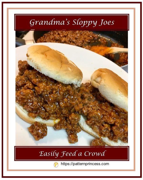 Grandma's Sloppy Joes