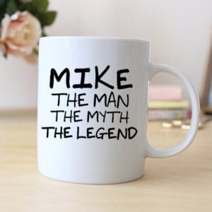 Personalized Coffee Mug for Him