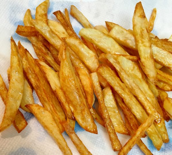 Cooked French Fries