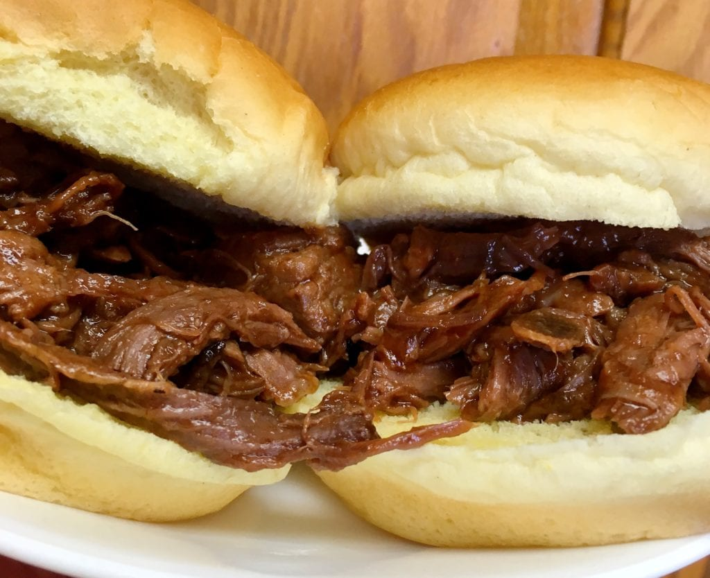 Slow Cooker Pulled Venison