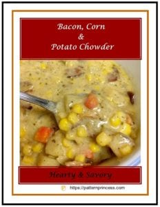 Bacon Corn and Potato Chowder 1