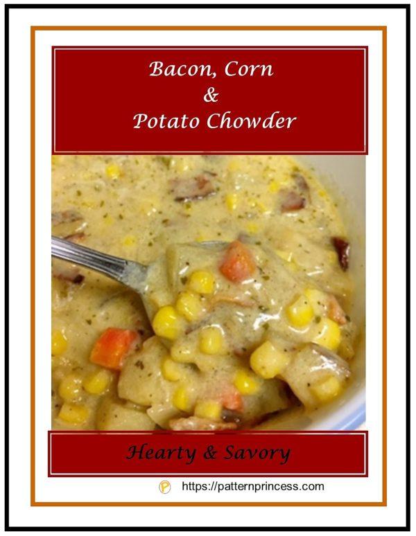 Bacon, Corn & Potato Chowder