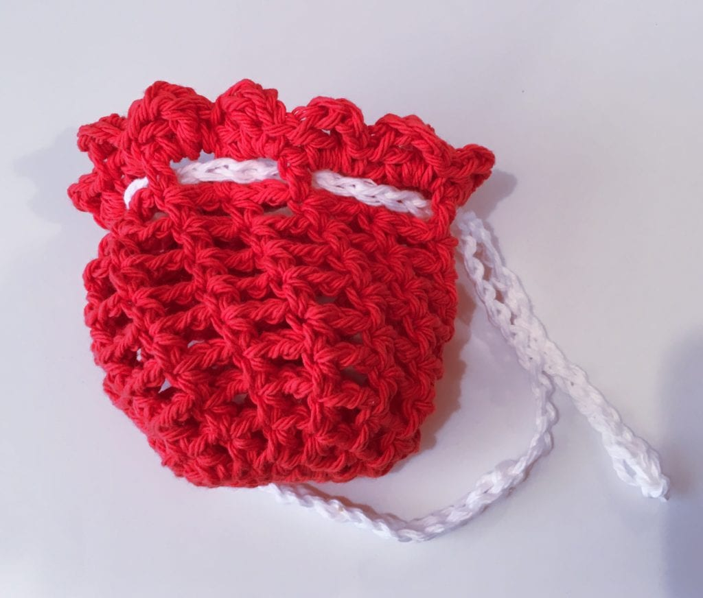 Red and White Gift Sack