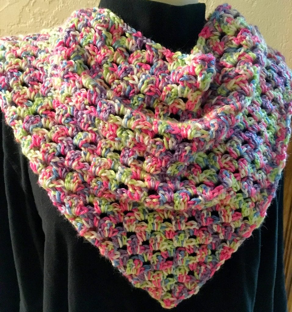Mini Triangle Shawl