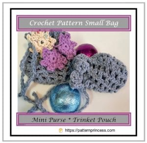 Crochet Pattern Small Bag 1