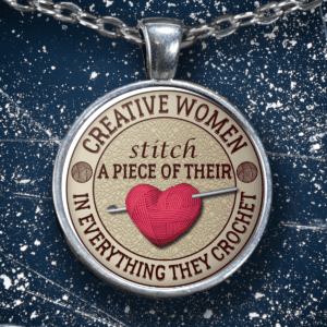 creative women pendant