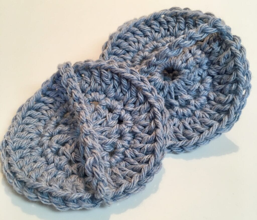 Handles on Easy Face Scrubbies