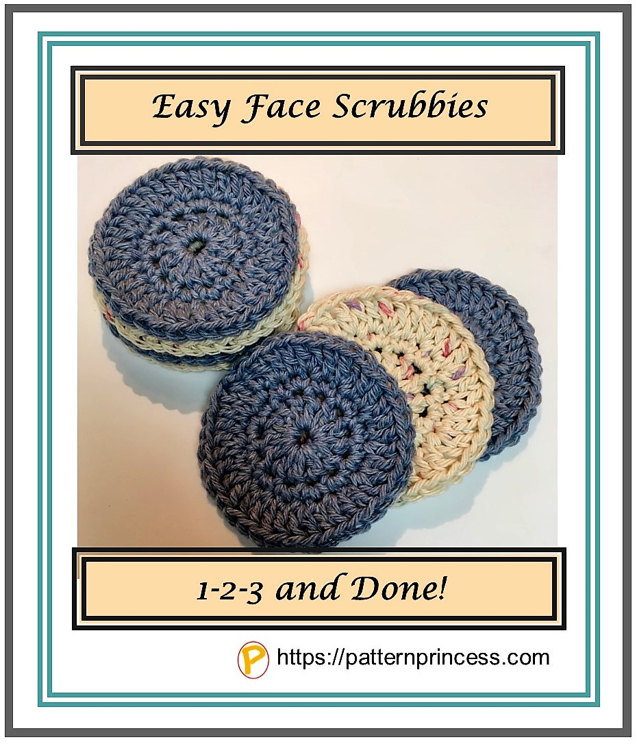 Easy Face Scrubbies 1