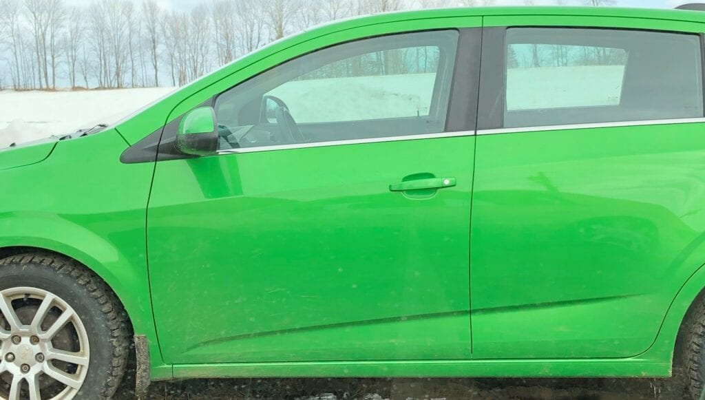 Photo of Son-in-laws car