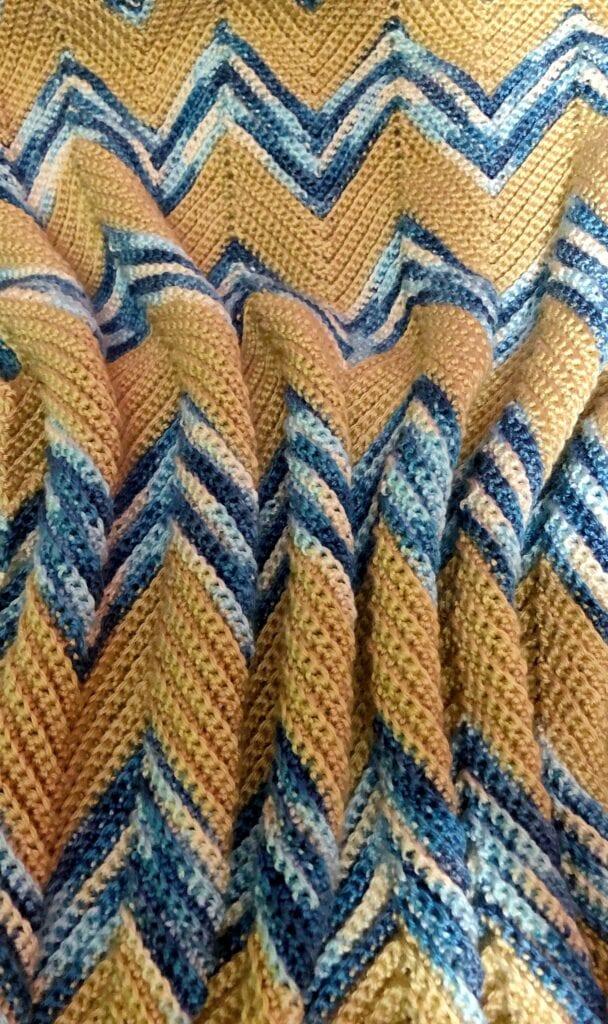easy crochet blanket pattern