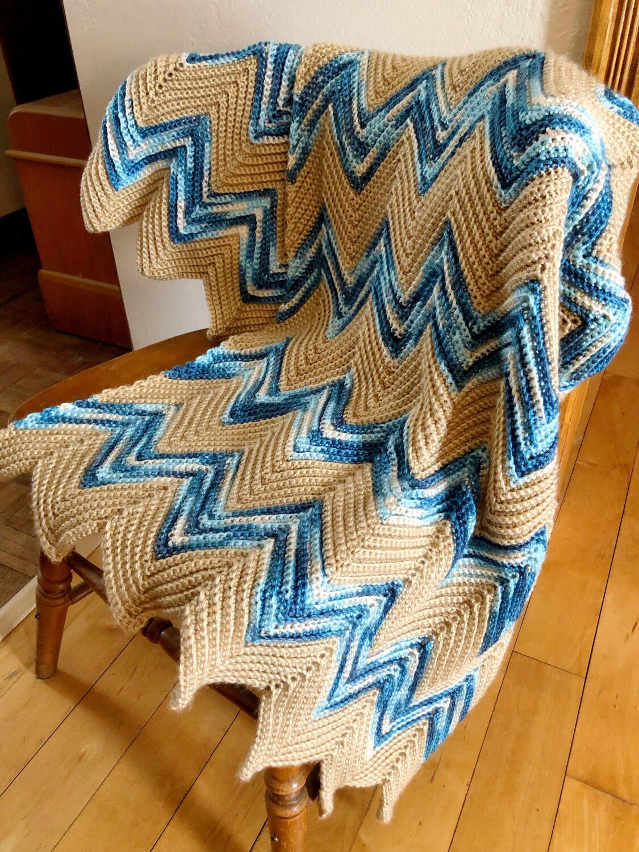 Crochet Country Throw