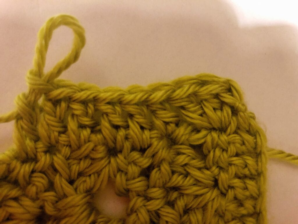 Double Crochet Border