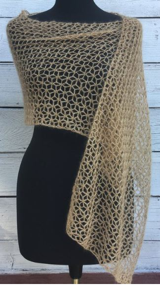 PureRainbowMadness Lace Airy Wrap