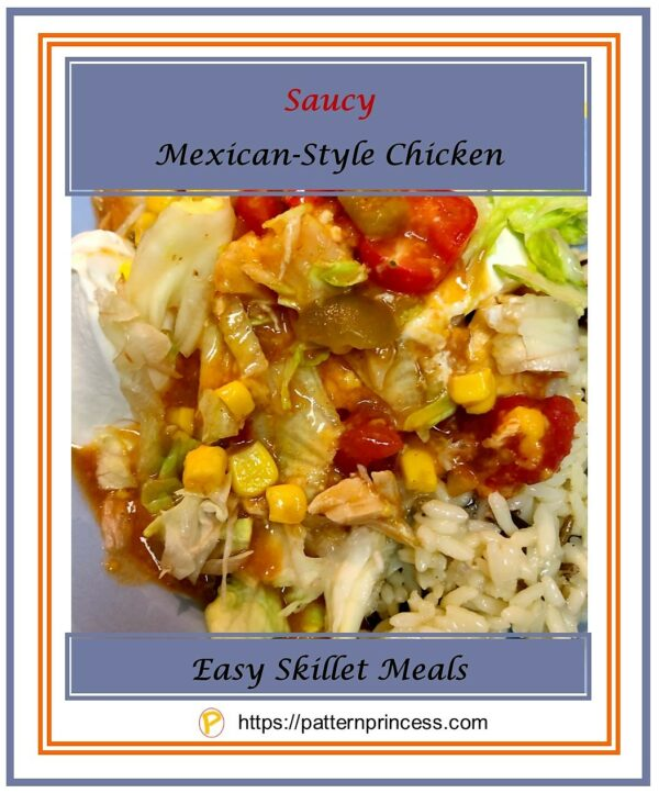 Saucy Mexican-Style Chicken