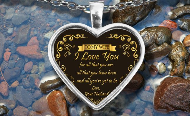 To My Wife Loving Necklace