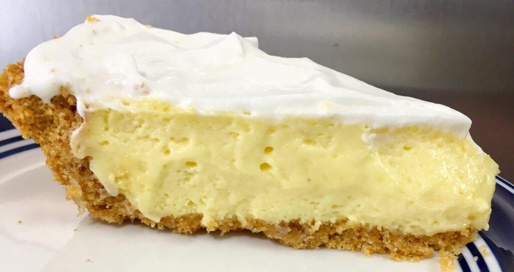 Slice of Key Lime Pie