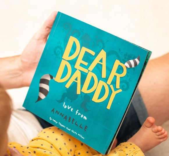 Dear Daddy Personalized Childrens Book