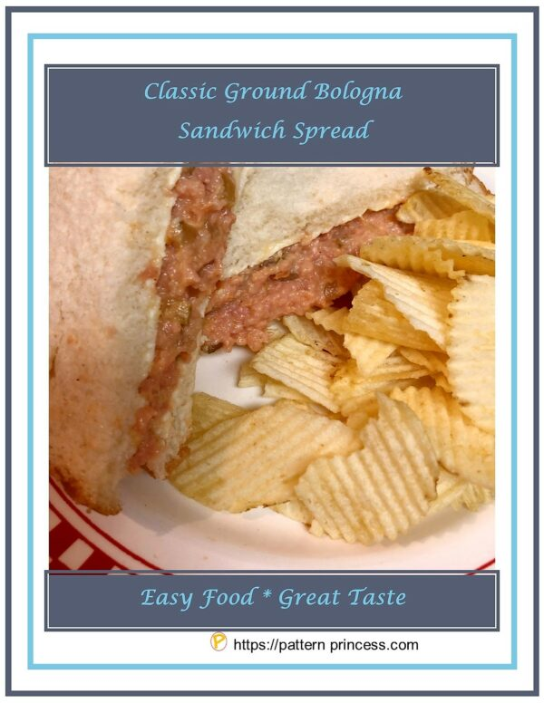 Classic Ground Bologna Sandwich Spread