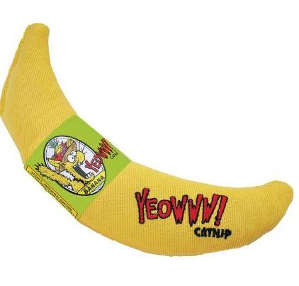 Banana Catnip Cat Toy