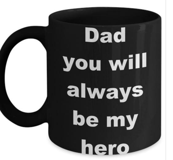 Dad-is-my-Hero-Mug