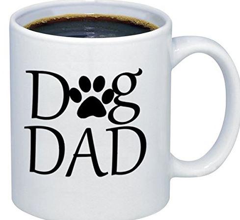 Dog Dad Paw Mug