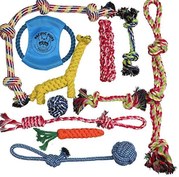 Dog-Rope-Toys-Set-of-11-Toys