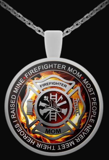Firefighter Hero Necklace