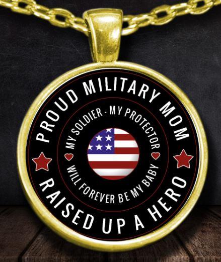 Proud Military Mom Raised up a Hero