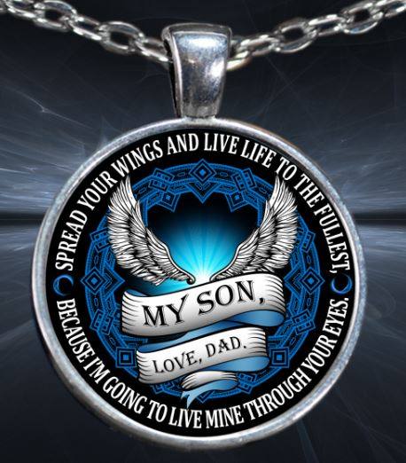 To My Son Love Dad