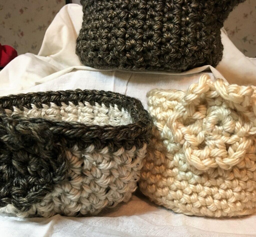 Rocky Mountain Crochet Basket