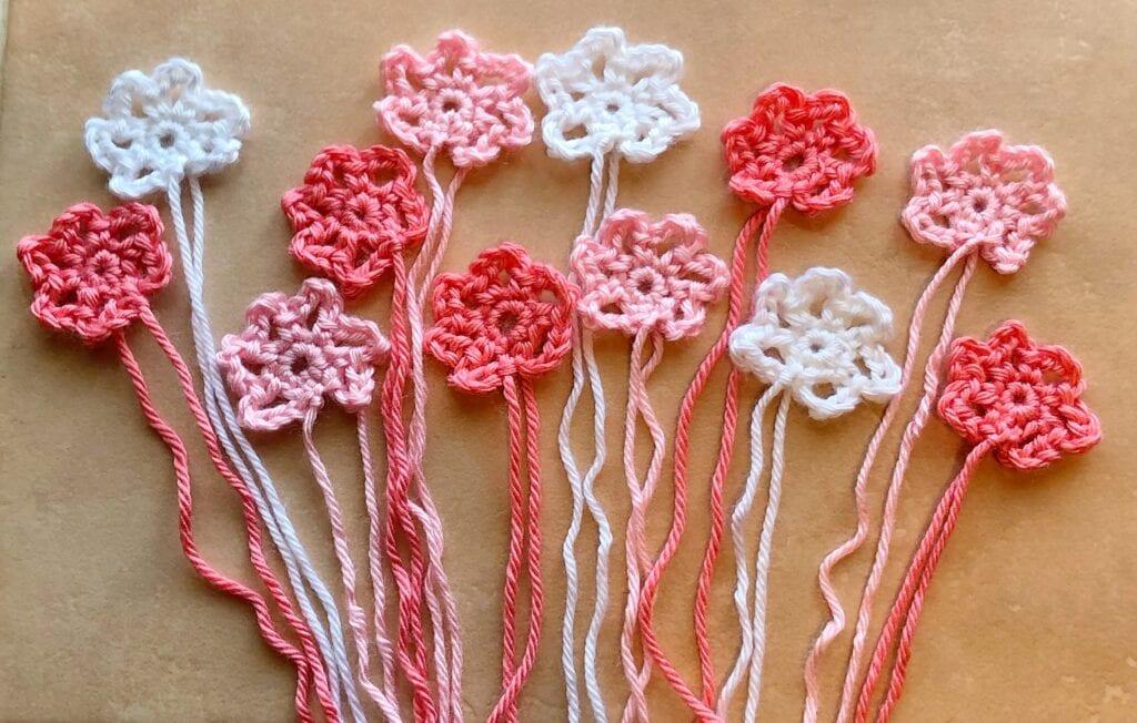 Beginner Crochet Flower Arrangement