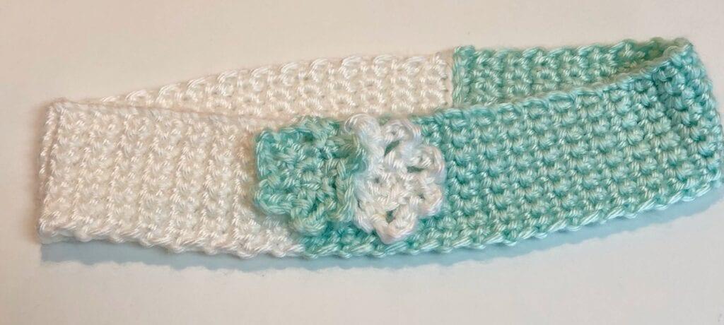 Two-toned Crochet Headband