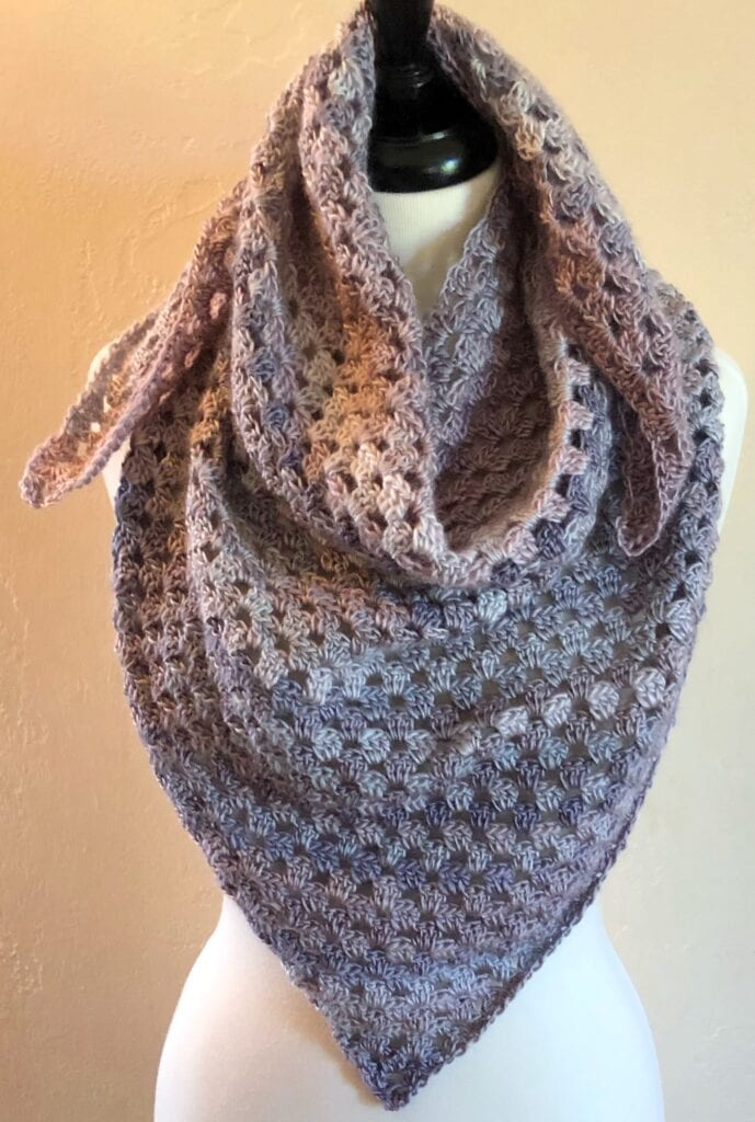 Scarf without Spiked Fringe