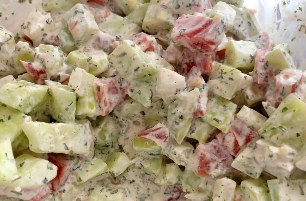 Scrumptious Cucumber Salad Recipe