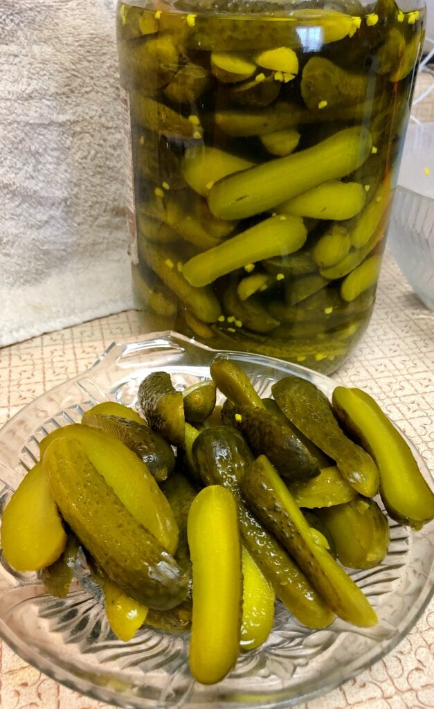 Homemade Taste from Store Bought Pickles