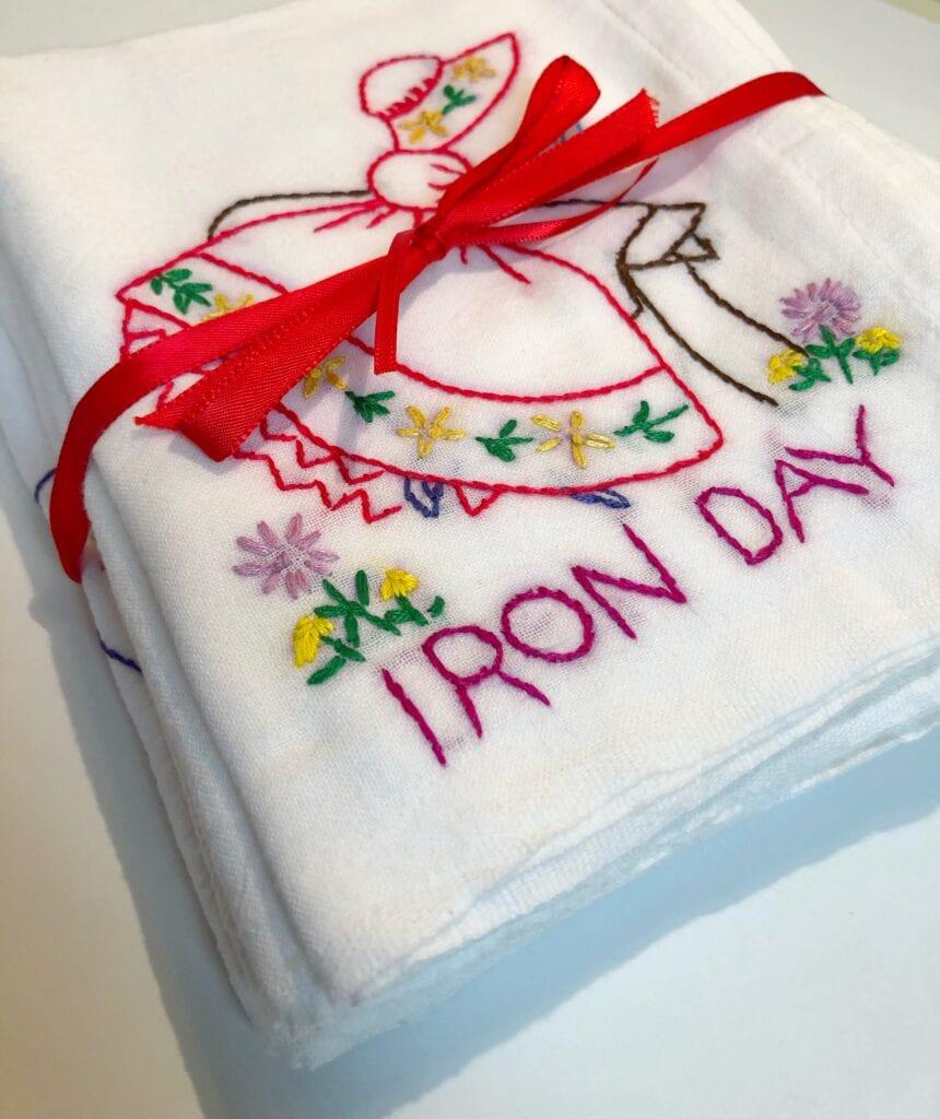 Gifting Hand Sewn Towels