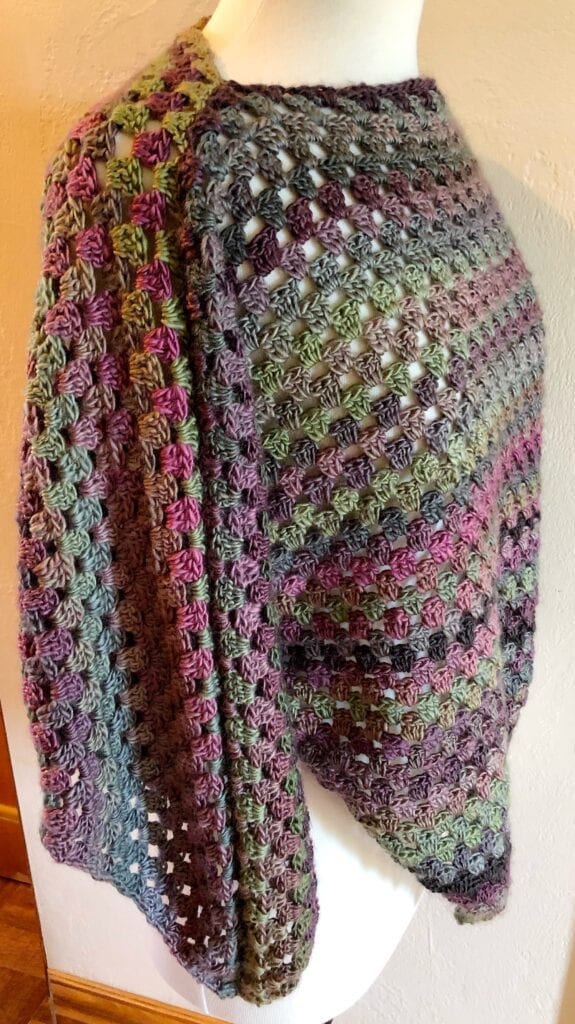 Crochet Top Side View