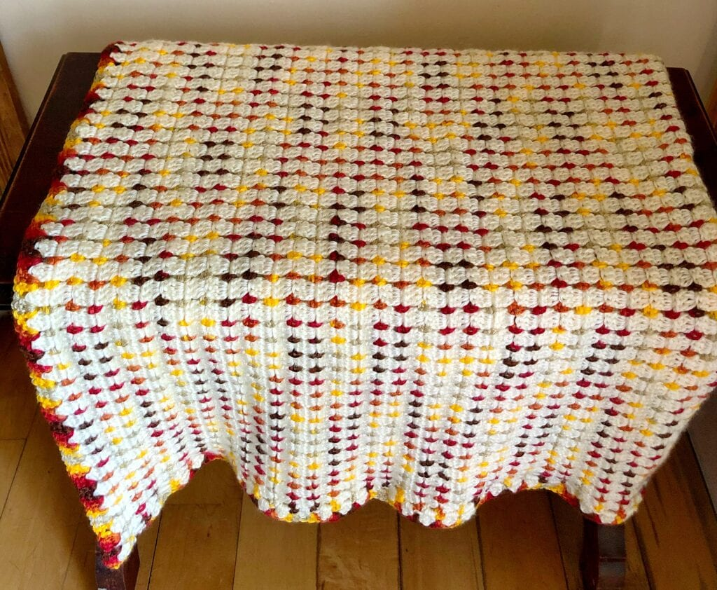 Autumn Sunset Blanket