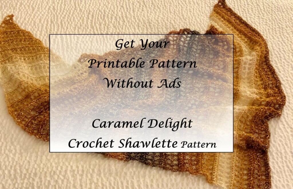 Caramel-Delight-Crochet-Shawlette-Pattern-Printable
