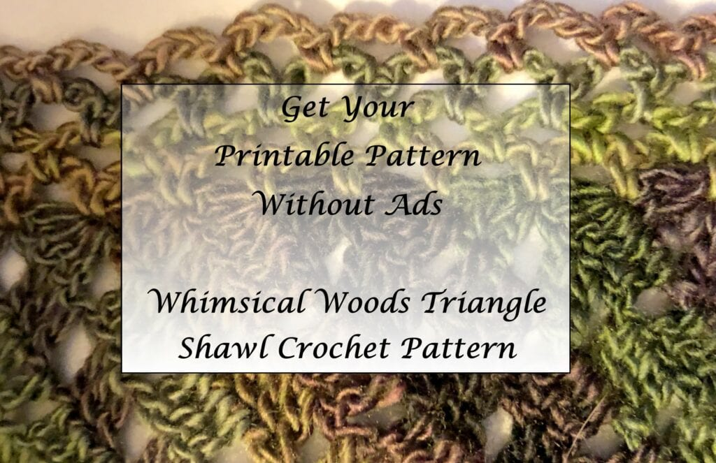 Whimsical-Woods-Triangle-Shawl-Crochet-Pattern-Printable
