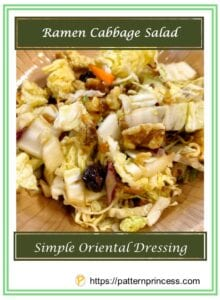 Ramen Cabbage Salad 1