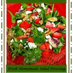 Strawberry Spring Mix Salad 1