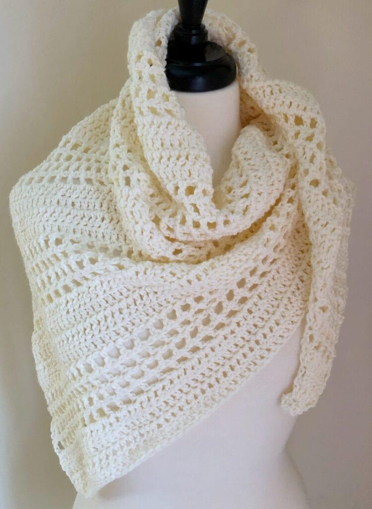 8-Hour Crochet Shawl Pattern