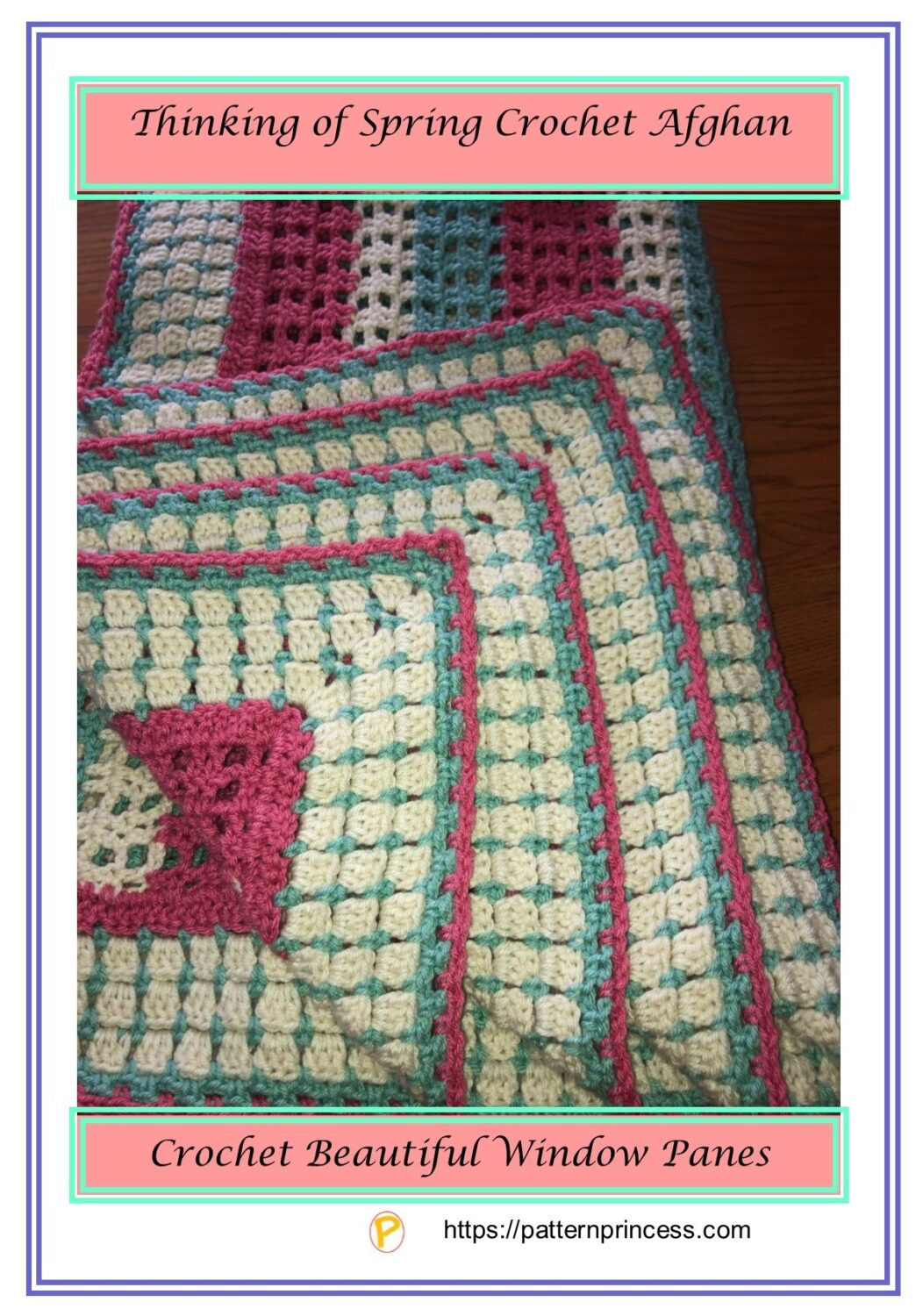 Thinking of Spring Crochet Afghan