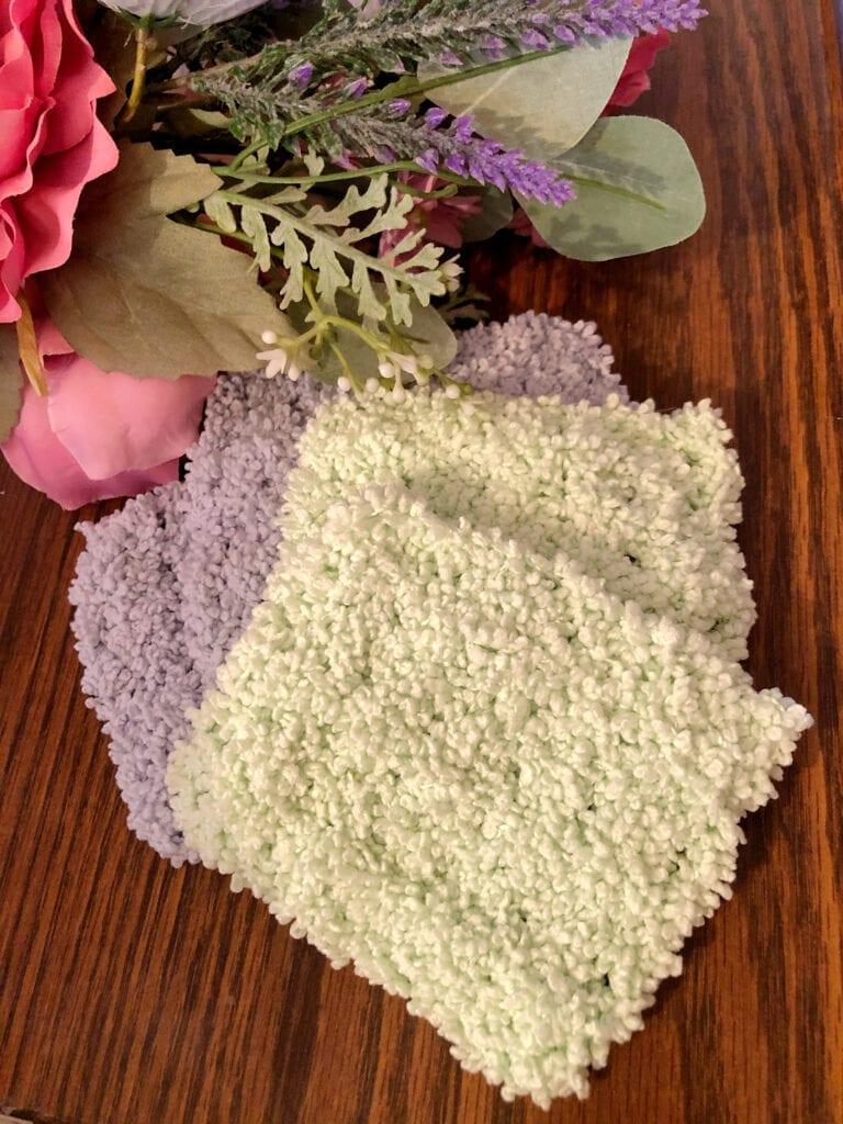 Soft Quick Crochet Face Scrubbie