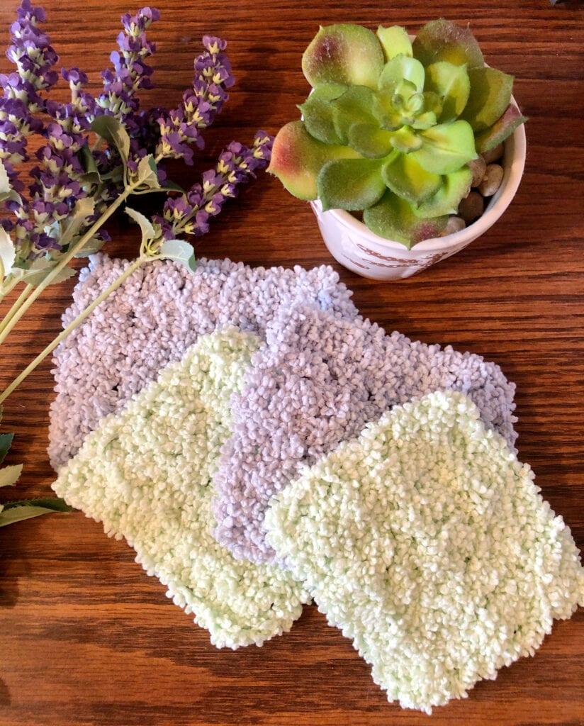 Quick Crochet Face Scrubbie