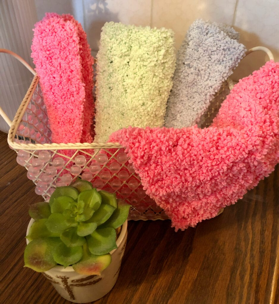 Plush Crochet Cloth, Soft and Fluffy