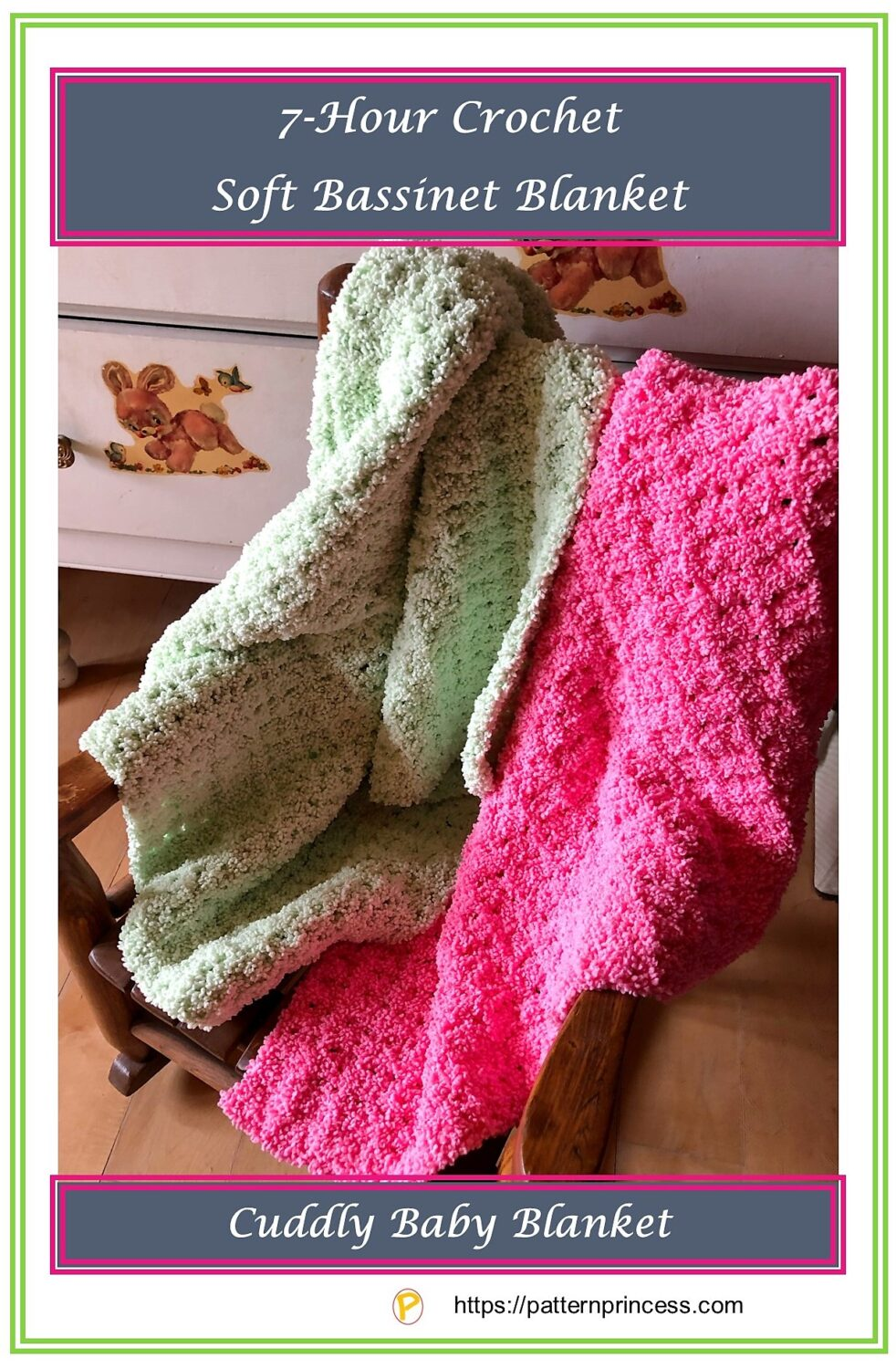Crochet Soft Baby Blanket