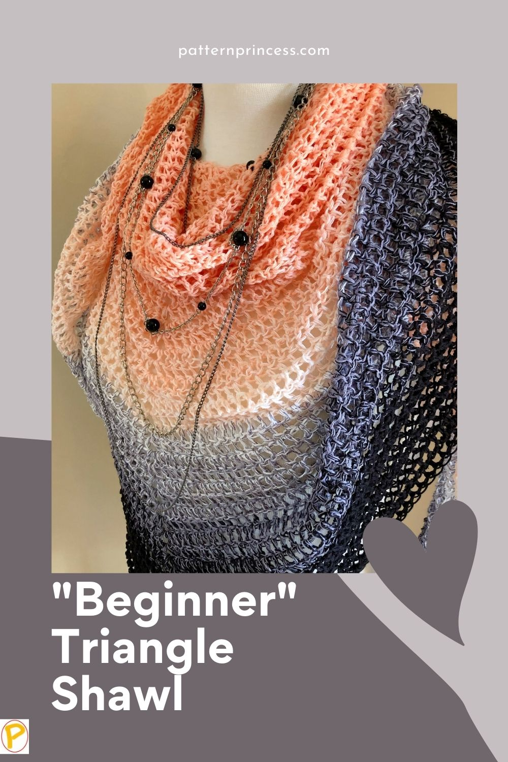 """Beginner"" Triangle Shawl"