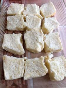 Adding the Hawaiian Buns to the Baking Pans
